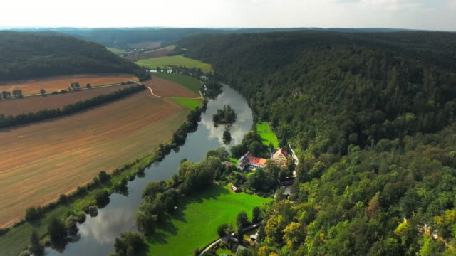 naab river valley in upper palatinate in bavaria - upper palatinate stock videos & royalty-free footage