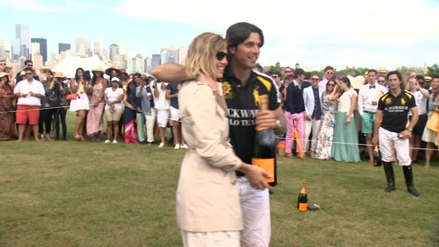 Nacho Figueras at Seventh Annual Veuve Clicquot Polo Classic at at Liberty State Park on May 31 2014 in Jersey City New Jersey