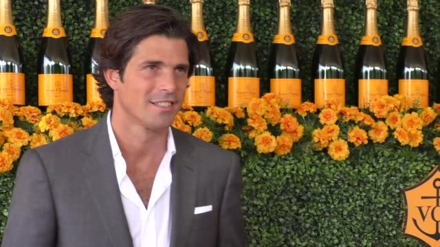 Nacho Figueras at the sixth annual Veuve Clicquot Polo Classic at Will Rogers Historic State Park in Pacific Palisades at Celebrity Sightings in Los...