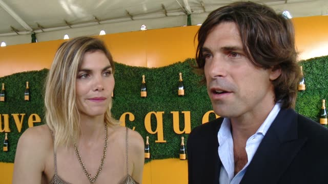 interview nacho figueras at will rogers state historic park on october 15 2016 in pacific palisades california - pacific palisades stock videos & royalty-free footage