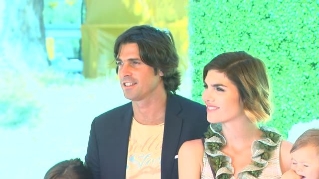 nacho figueras, delfina blaquier at fourth annual veuve clicquot polo classic los angeles benefiting will rogers state historic park on 10/5/2013 in... - fourth occurrence stock videos & royalty-free footage