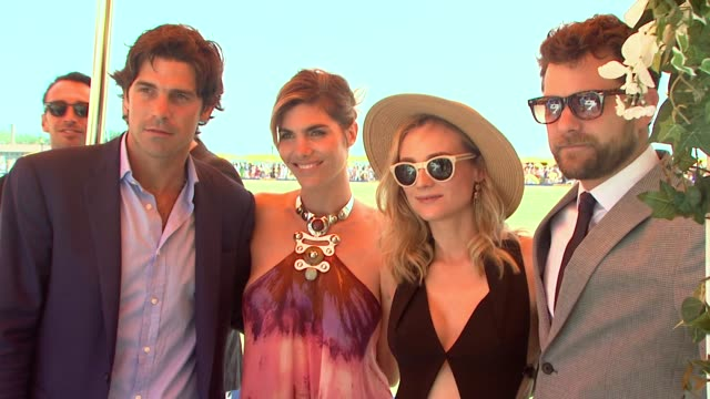 nacho figueras delfina blaquier diane kruger joshua jackson at veuve clicquot polo classic 2015 at liberty state park on may 30 2015 in jersey city... - jackson new jersey stock videos and b-roll footage