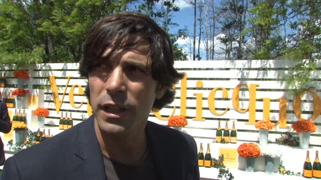 nacho figueras on this being the seventh annual event, on how it has grown over the last couple of years, on city harvest being this year's... - beneficiary stock videos & royalty-free footage