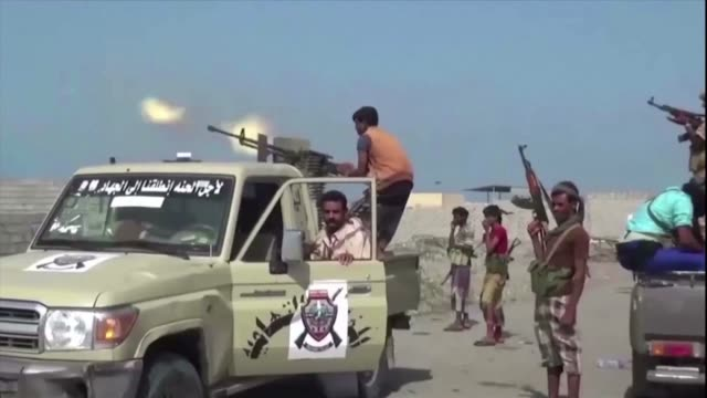 naciones unidas informo el lunes que el acuerdo de tregua en la provincia yemeni de hodeida principal escenario de la guerra en los ultimos meses... - naciones unidas stock videos & royalty-free footage