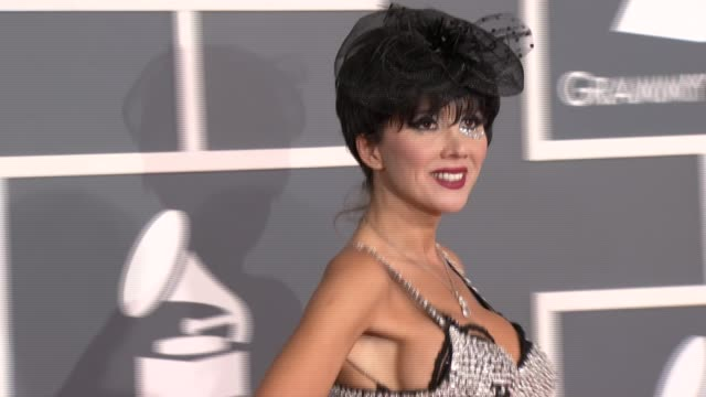 Nadeea at 54th Annual GRAMMY Awards Arrivals on 2/12/12 in Los Angeles CA