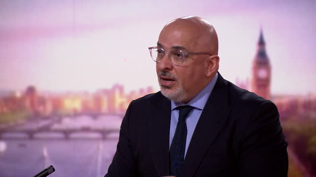 nadhim zahawi responding to dominic cummings's claim that matt hancock lied about testing for care home workers - advice stock videos & royalty-free footage