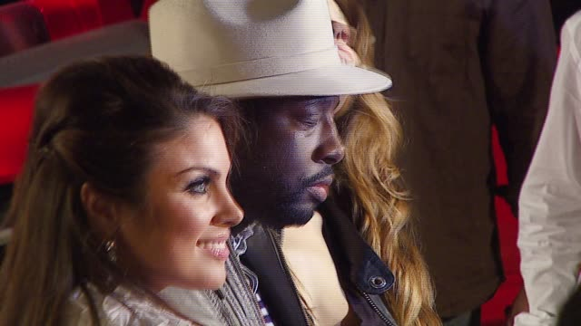 nadia bjorlin and wyclef jean at the wyclef jean and the refugee allstars performing sneak peek at exclusive clips from redline at house of blues on... - nadia bjorlin stock videos & royalty-free footage