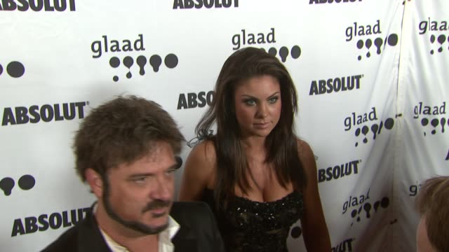 Nadia Bjorlin at the 18th Annual GLAAD Media Awards at the Kodak Theatre in Hollywood California on April 14 2007