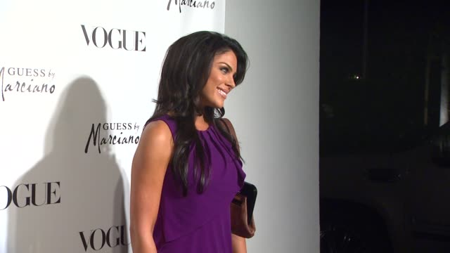 nadia bjorlin at the guess by marciano vogue 2011 holiday collection debut at beverly hills ca - nadia bjorlin stock videos & royalty-free footage