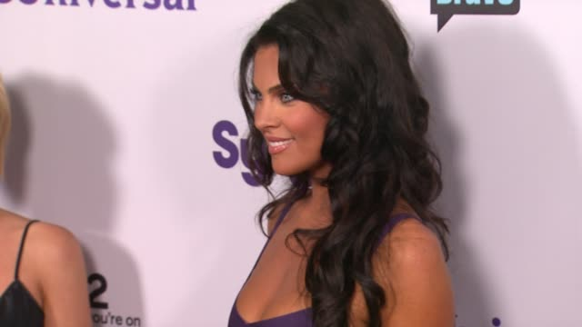 Nadia Bjorlin at the NBC Universal Press Tour AllStar Party at Los Angeles CA
