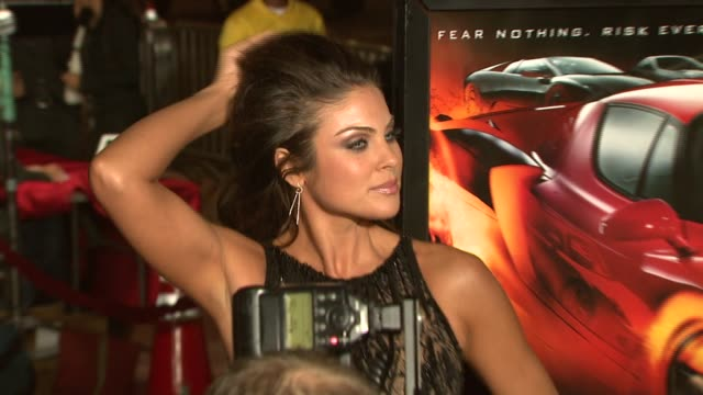 Nadia Bjorlin at the 'REDLINE' Los Angeles Premiere at Grauman's Chinese Theatre in Hollywood California on April 12 2007