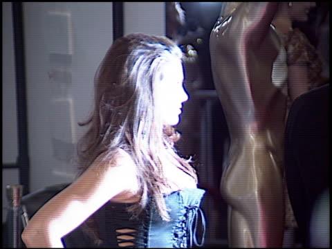 nadia bjorlin at the world music awards 2005 at the kodak theatre in hollywood california on august 31 2005 - nadia bjorlin stock videos & royalty-free footage