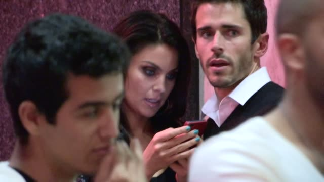 nadia bjorlin brandon beemer depart bootsy bellows in west hollywood 03/30/13 - nadia bjorlin stock videos & royalty-free footage