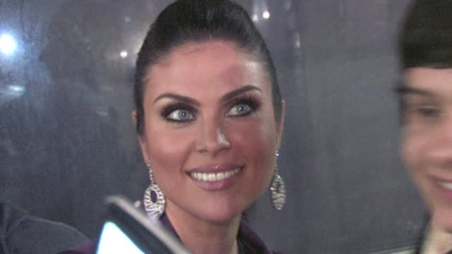 Nadia Bjorlin greets fans at The Vow after party in Hollywood 02/06/12
