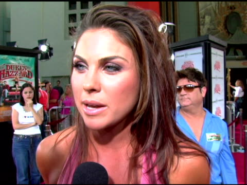 nadia bjorlin on the dukes appeal, on the film's influence on fashion, on the country western style she's added to her wardrobe at the 'the dukes of... - persuasion stock videos & royalty-free footage
