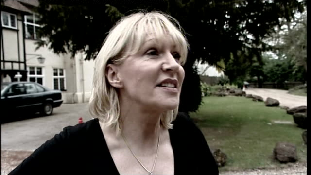 nadine dorries i'm a celebrity row parliamentary standards commissioner may investigate may 2009 midlands ext nadine dorries speaking to reporter and... - i'm a celebrity... get me out of here stock videos & royalty-free footage