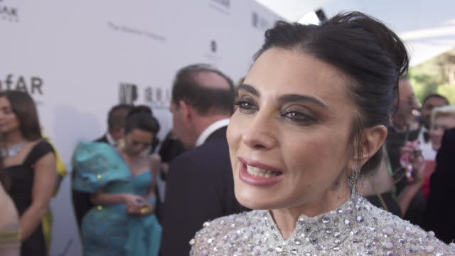 INTERVIEW Nadine Labaki on all the good that comes from the amfAR event at the amfAR Cannes Gala 2019 Arrivals at Hotel du CapEdenRoc on May 23 2019...