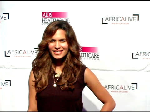 vidéos et rushes de nadine velazquez at the the aids healthcare foundation presentation of 'hot in hollywood' at the henry fonda/music box theatre in hollywood,... - henry fonda theatre