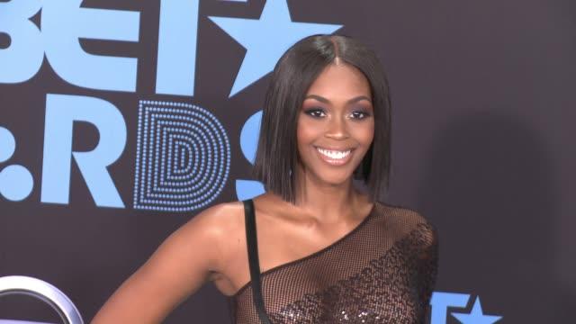 Nafessa Williams at 2017 BET Awards in Los Angeles CA