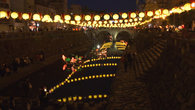 vídeos y material grabado en eventos de stock de nagasaki lantern festival - eventos de la vida