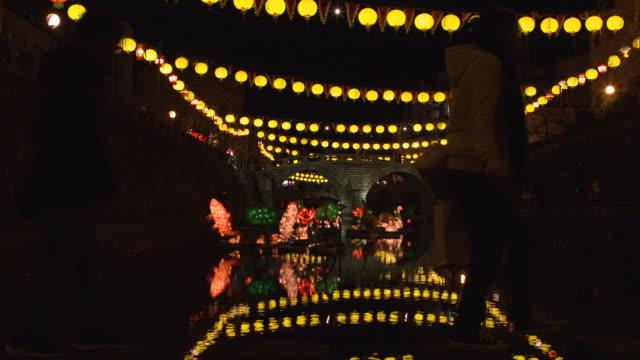 nagasaki lantern festival - gå tillsammans bildbanksvideor och videomaterial från bakom kulisserna