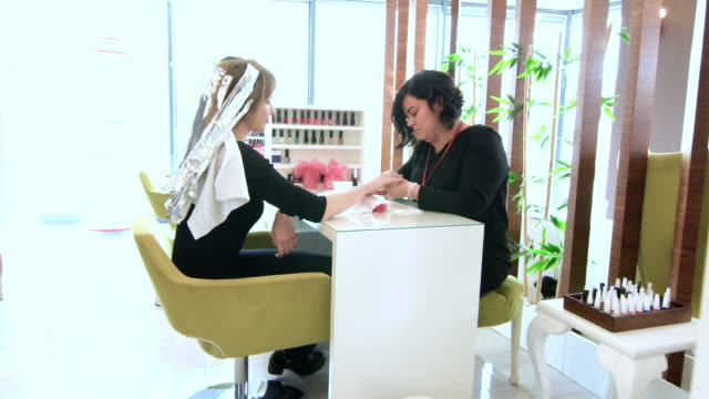 nail care, manicure - manicure stock videos & royalty-free footage