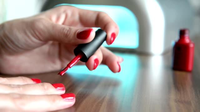 nail polish - sexual fetish stock videos & royalty-free footage