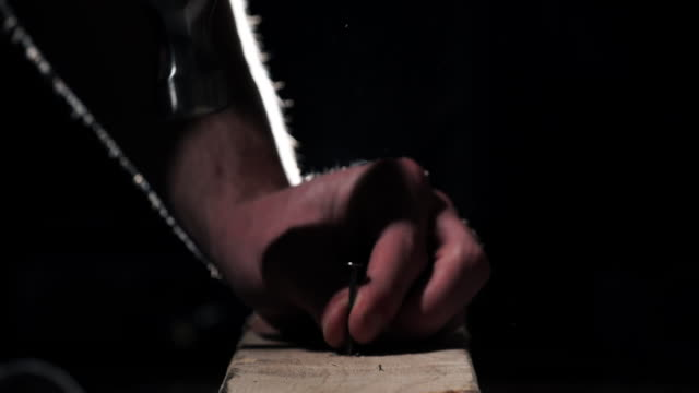 nail - wood grain stock videos & royalty-free footage