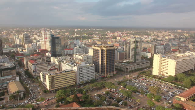 Nairobi city - skyline pan