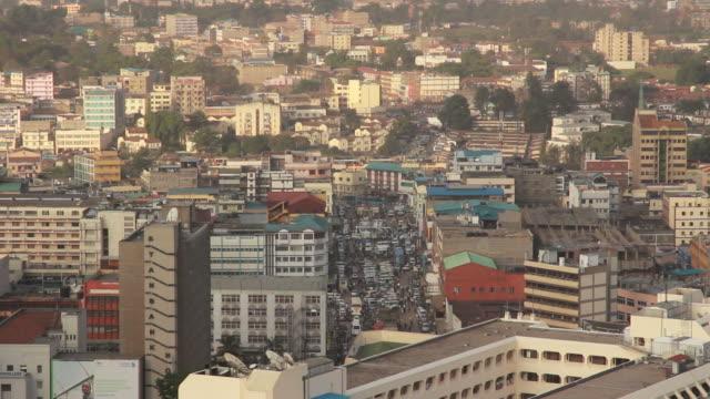nairobi cityscape - nairobi stock videos and b-roll footage
