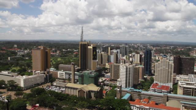 nairobi, kenya citiscape - nairobi stock videos and b-roll footage