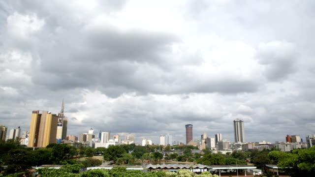 nairobi skyline - nairobi stock videos and b-roll footage