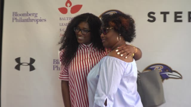 "najia johnson at the baltimore leadership school for young women hosts hometown premiere of sundance sensation ""step"" in baltimore md - hometown bildbanksvideor och videomaterial från bakom kulisserna"