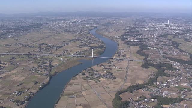 AERIAL, Naka River, Ibaraki, Japan