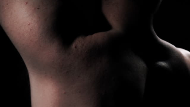 naked - 人間の関節点の映像素材/bロール
