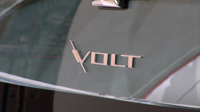 ECU, Nameplate on electric Chevrolet Volt Concept car, North American International Auto Show