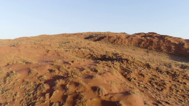 namibian desert. aerial view - namibian desert stock videos and b-roll footage