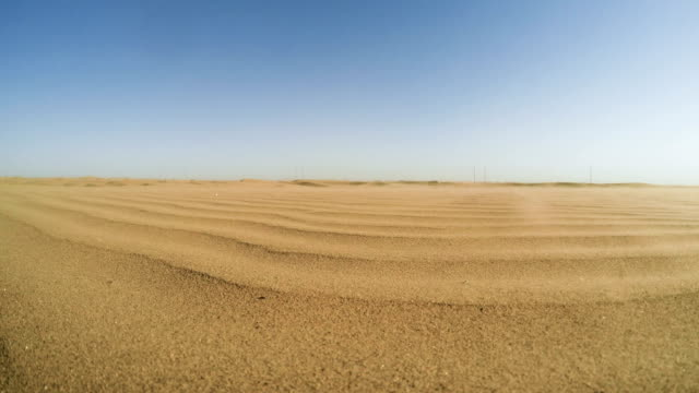 namibian desert. sun shining above sand dunes - sand stock videos & royalty-free footage