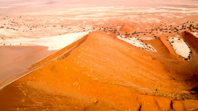 aerial namibian desert - namibian desert stock videos and b-roll footage