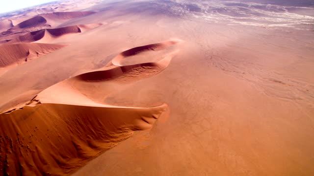 AERIAL Namibian Landscape