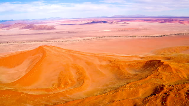 aerial namibian landscape - namibian desert stock videos and b-roll footage