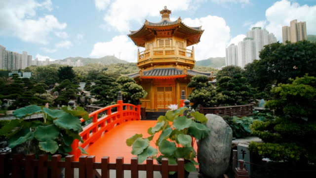 nan lian garden ,hong kong - temple building stock videos & royalty-free footage
