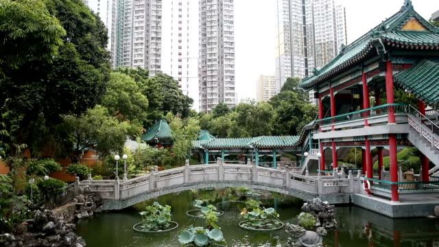 stockvideo's en b-roll-footage met nan lian tuin in hing kong, china. - hong kong