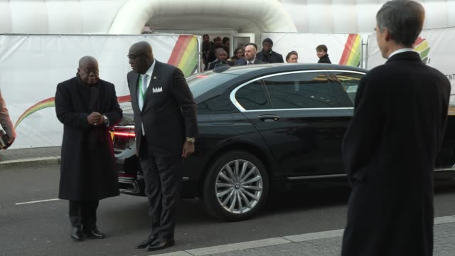 nana akufo-addo - ghana's president at o2 waterview on january 20, 2020 in london, england. - president stock videos & royalty-free footage