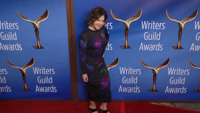 nancy cohen at the 2020 writers guild awards at the beverly hilton hotel on february 01, 2020 in beverly hills, california. - the beverly hilton hotel stock videos & royalty-free footage