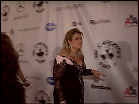 nancy davis at the carousel of hope gala at the beverly hilton in beverly hills california on october 23 2004 - carousel of hope stock videos and b-roll footage