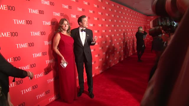 nancy juvonen and jimmy fallon at 2013 time 100 gala arrivals at frederick p rose hall jazz at lincoln center on april 23 2013 in new york new york - jimmy fallon stock videos and b-roll footage