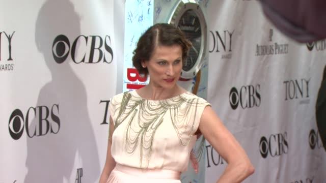 Nancy La Scala at the 63rd Annual Tony Awards Red Carpet at New York NY
