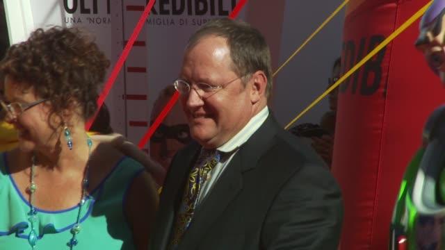 Nancy Lasseter John Lasseter at the John Lasseter Golden Lion Red Carpet Venice Film Festival 2009 at Venice
