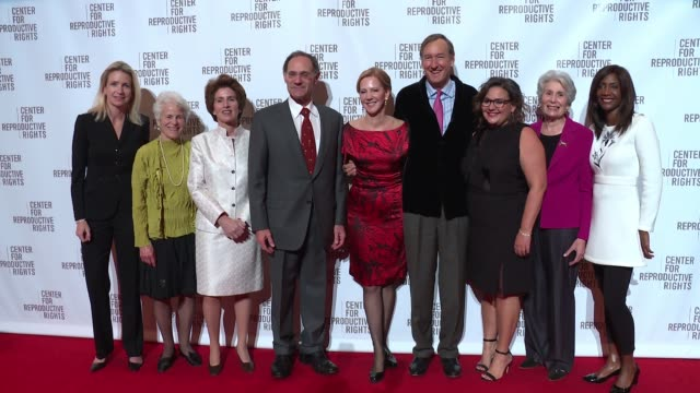 Nancy Northup Kathleen Tait and guests at Center For Reproductive Rights Gala at Jazz at Lincoln Center on October 25 2016 in New York City